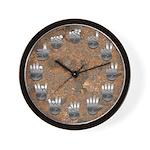 Rusty Signed Wall Clock
