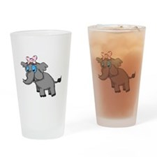Ella Elephant Drinking Glass