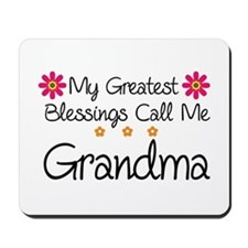 Blessings Grandma Mousepad