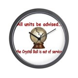 Cute Crystal ball Wall Clock