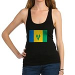 Saint Vincent and the Grenadines.jpg Racerback Tan