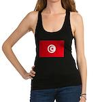 Tunisia.jpg Racerback Tank Top