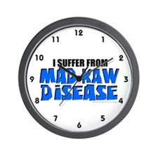 Mad Kaw Disease *New* Wall Clock