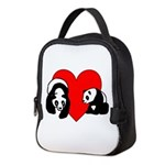 Panda Bear Love Neoprene Lunch Bag