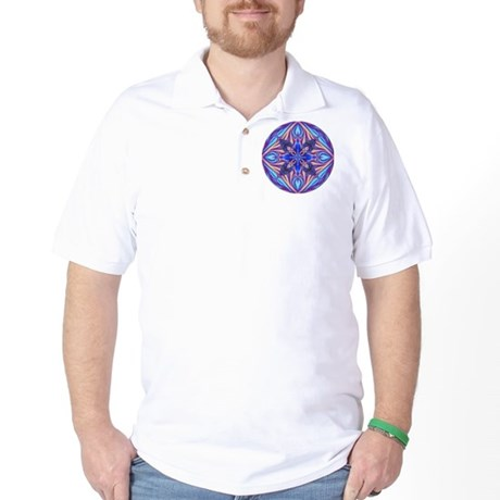 Kaleidoscope Fractal Golf Shirt