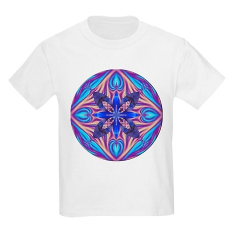 Kaleidoscope Fractal Kids T-Shirt