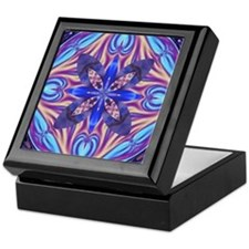 Kaleidoscope Fractal Keepsake Box