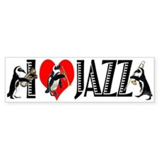 Jazz Bumper Bumper Sticker