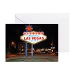 LV Sign pm - Greeting Cards (Pk of 10)