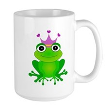 Purple Crown Frog Prince Mug