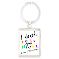 Teacher Portrait Keychain