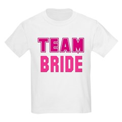 kids team bride shirt