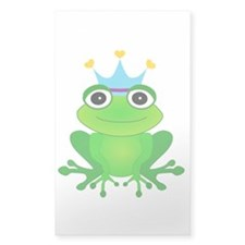 Blue Crown Frog Prince Decal