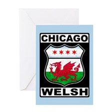 Chicago Welsh American Sign Greeting Card