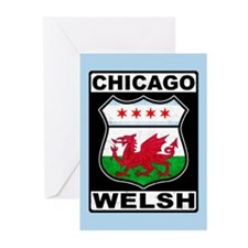 Chicago Welsh American Sign Greeting Cards (Pk of