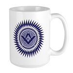 Masonic Starburst Crystal Large Mug