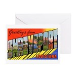 Shreveport Louisiana Greetings Greeting Cards (Pac