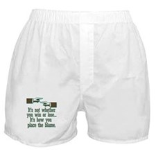 Funny Win or Lose Boxer Shorts