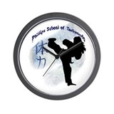Phillips School of Taekwondo Wall Clock