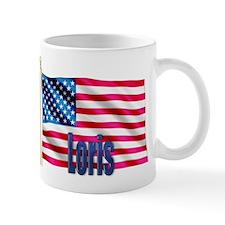 Loris American Flag Gift Mug