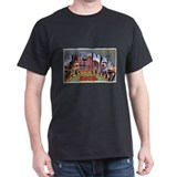 Saginaw Michigan Greetings (Front) T-Shirt