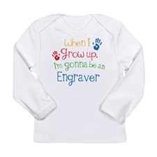 Future Engraver Long Sleeve Infant T-Shirt