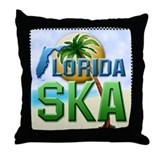 Florida SKA Throw Pillow