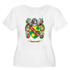 Emerson Coat of Arms Plus Size T-Shirt