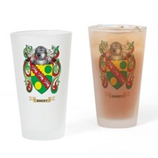 Emery Coat of Arms Drinking Glass