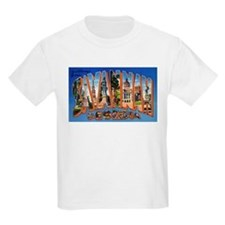 Savannah Georgia Greetings Kids T-Shirt