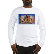 Savannah Georgia Greetings Long Sleeve T-Shirt