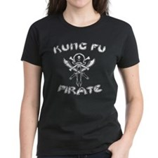 Women's Dark Kung Fu Pirate T-Shirt