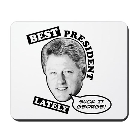 Best President Lately Mousepad