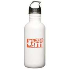 Unique Funny 911 Water Bottle