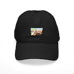 Seattle Washington Greetings Black Cap