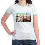 Seattle Washington Greetings Jr. Ringer T-Shirt