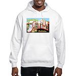 Seattle Washington Greetings Hooded Sweatshirt