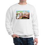 Seattle Washington Greetings (Front) Sweatshirt