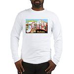Seattle Washington Greetings Long Sleeve T-Shirt