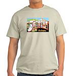 Seattle Washington Greetings Ash Grey T-Shirt