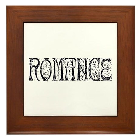Romance Framed Tile