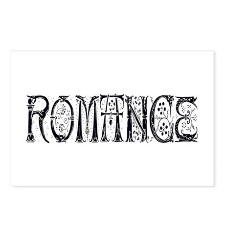 Romance Postcards (Package of 8)