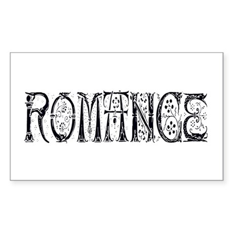 Romance Rectangle Sticker