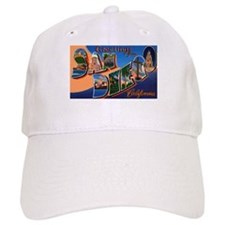 San Diego California Greetings Baseball Cap