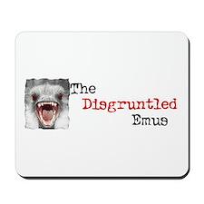Disgruntled Emu Mousepad