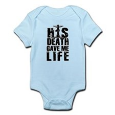 HisDeathGaveLife copy Body Suit