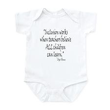 Inclusion Works Infant Bodysuit