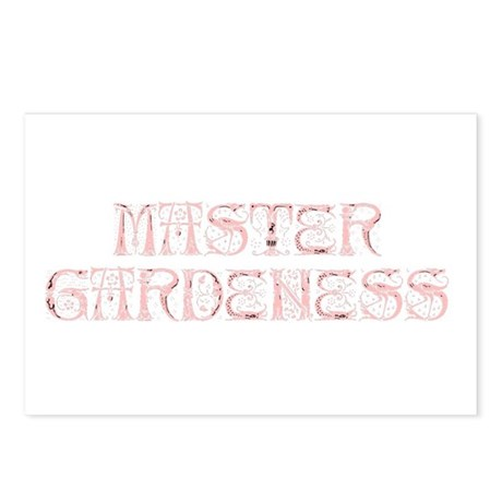 Master Gardeness Postcards (Package of 8)