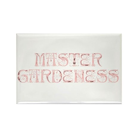Master Gardeness Rectangle Magnet