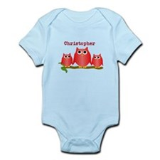 Red Owls Customize Body Suit